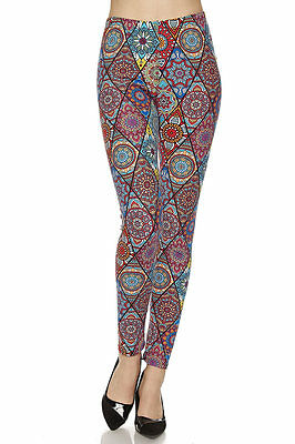 Leggings TC//212 Buttery Soft Always Brushed Floral Pattern PLUS SIZE