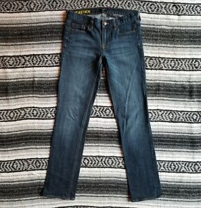 J-Crew-Sz-27-Matchstick-Low-Rise-Slim-Skinny-Leg-Stretch-Denim-Medium-Faded-Wash