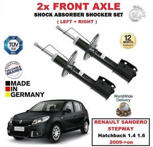 FOR RENAULT SANDERO STEPWAY Hatchback 1.4 1.6 2009->on FRONT SHOCK ABSORBERS SET