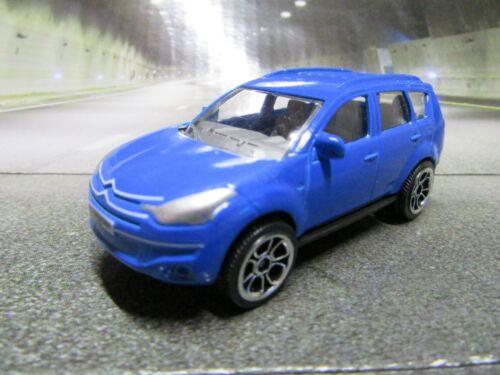 201 Majorette® Scale 1:64 Citroen Crosser blau SUV   Top  Neu wie Bild
