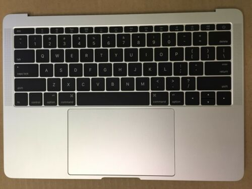 """MacBook Pro 13.3/"""" A1708 2016 keyboard Battery A1713 Touchpad Top Case Silver"""