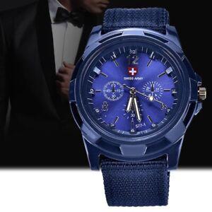 Relojes-militares-de-tejer-de-moda-nueva-Reloj-ejercito-fuerzas-de-tierra-K9O1