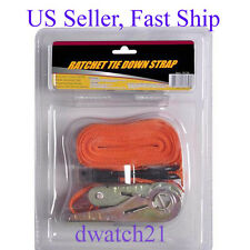 """2 Pack FREE2DAYSHIP TAXFREE NEW Keeper 05720 6/' x 1/"""" Ratchet//Cycle Tie-Down"""