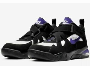 Details about NEW Sz 8.5 Men's Nike Air Force Max CB Black Purple Charles Barkley AJ7922 004
