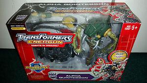 Alpha Quintesson Energon Transformers Hasbro Misp!   2004 Les batailles Powerlinx!