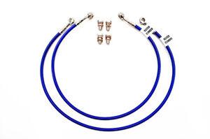 83-85 Honda ATC200X Galfer Front and Rear Brake Lines Blue D897-1//D897R