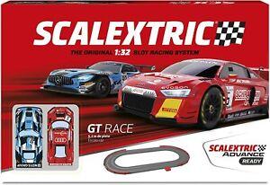 Circuito Scalextric Advance Ready- GT Race. Escala 1/32. 5,2m de pista.