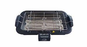Bistecchiera elettrica griglia grill piastra per carne pesce cucina ...