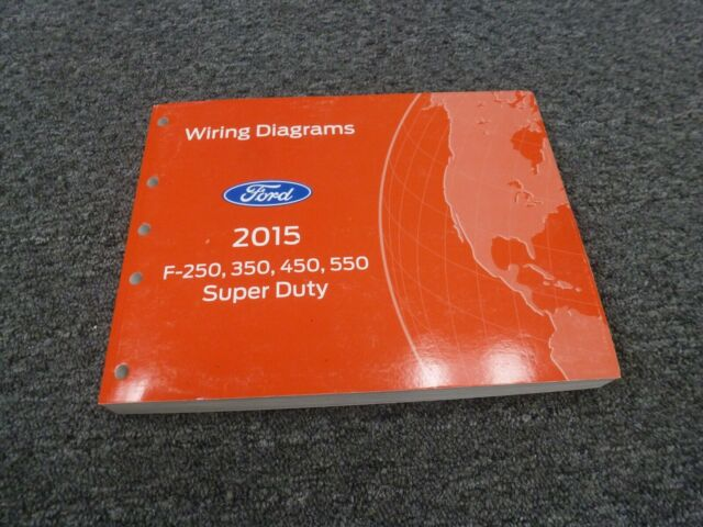 2015 Ford F450 Truck Electrical Wiring Diagrams Manual Xl