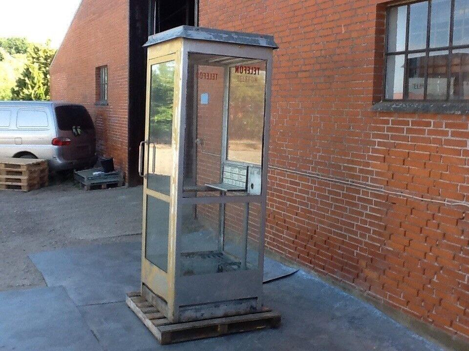 "Telefonboks ""Retro nostalgi"""
