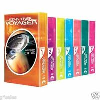 Star Trek Voyager Complete Series Seasons 1-7 With Pilot 47-disc Dvd Set