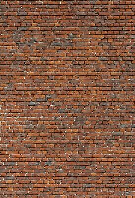 2 SHEETS EMBOSSED BUMPY BRICK wall paper 20x28cm EACH 1//12 scale arch STONE