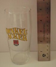 Dinkel Acker Beer Glass .25L small bier tasting, H: 5, sold in pairs