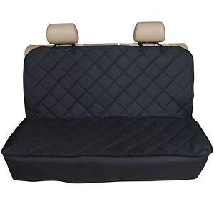 FOR AUDI A3 S3 PREMIUM QUILTED PET HAMMOCK REAR SEAT COVER
