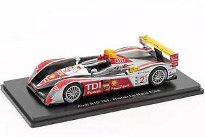 AUDI-r10-TDI-2-vincitore-24h-LEMANS-2008-Capello-Kristensen-McNish-1-43-SPARK
