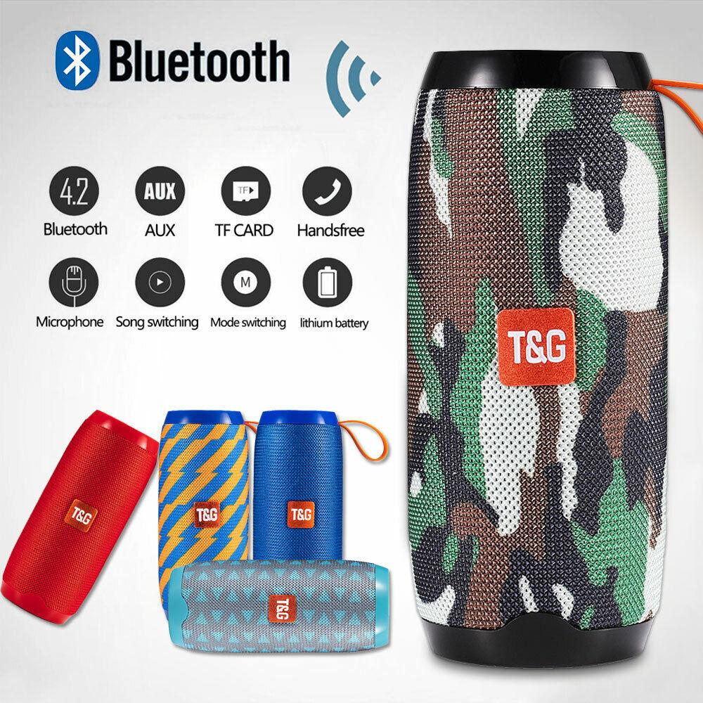 Wireless Bluetooth Speaker Waterproof Shower Portable Outdoo