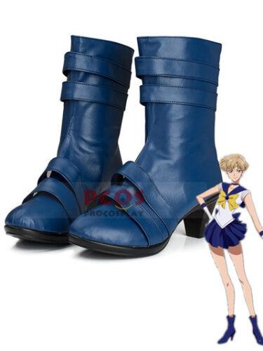 Sailor Moon Sailor Uranus Haruka Tenoh Cosplay  Shoes   FF.1028