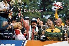 Clay Regazzoni Ferrari Victory Portrait Italian Grand Prix 1975 Photograph