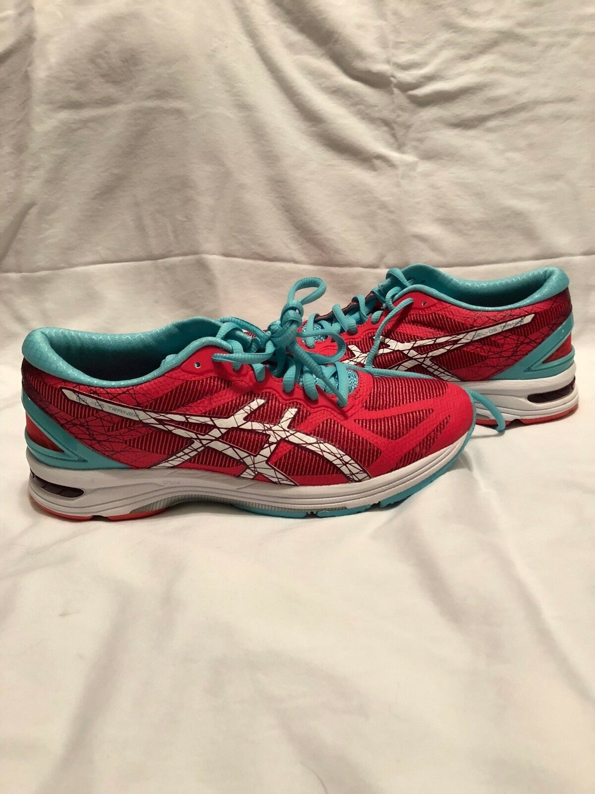 Asics Gel DS Trainer 21 Women's Running Shoes Size US 9 M (B) Red T674N