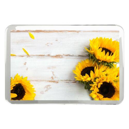 Pretty Sunflowers Classic Fridge Magnet Flowers Rustic Sister Gift #14826