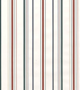 Details about Thin Stripes White Red Blue Green Gold Striped Double Roll Bolt Wallpaper Cover