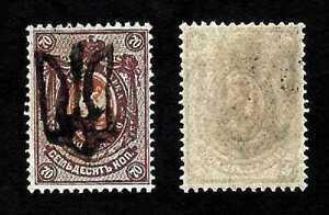 Ukraine-1918-podilia-type-10bb-Trident-surimpression-sur-la-Russie-70k-neuf-sans-charniere