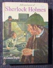 1955 Adventures of SHELOCK HOLMES by A. Conan Doyle - Whitman HC VG