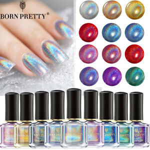 6ml-BORN-PRETTY-Holographic-Glitter-Nail-Polish-Laser-Nail-Art-Varnish