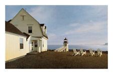 "1306 DALTON BROWN ALICE ISLAND COLUMNS ART PRINT POSTER 13/"" x 19"