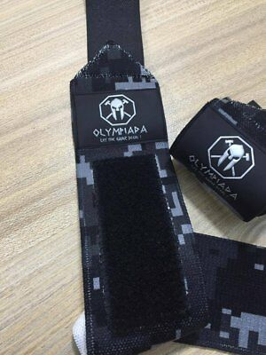 Olympiada American Flag Wrist Wraps HEAVY DUTY Support