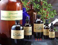 Organic Licorice Root Tincture Liquid Extract Natural Full Spectrum whole Herb