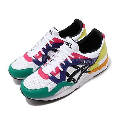 Asics Tiger Gel Lyte V White Black Pink Green Men Running Shoes 1191A227100 | eBay