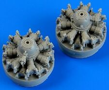 Quickboost 72490  1/72 C47 Skytrain Engines for Airfix