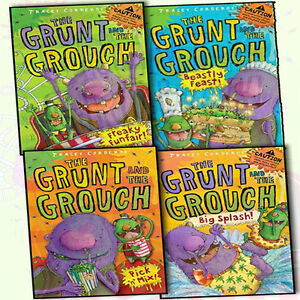 Tracey-Corderoy-The-Grunt-and-the-Grouch-4-Books-Collection-Pack-Set