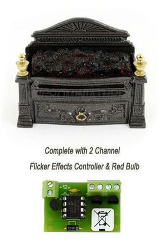 Fashion Style Carbone Griglia Fuoco Con Controller Elettronico Sfarfallio (00981) Il Consumo Regolare Di Tè Migliora La Salute