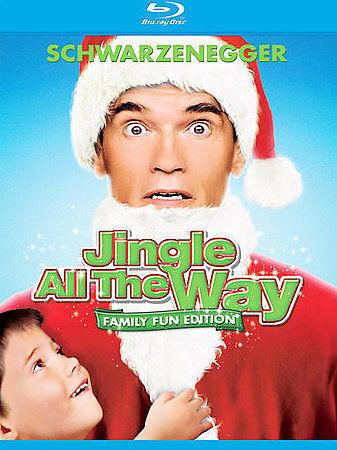 Jingle All The Way Blu-ray Disc, 2008, 2-Disc Set, Checkpoint Sensormatic... - $11.00