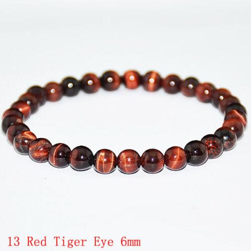 10 Mm Naturel Coloré Oeil de tigre pierre gemme perles Hommes Jewelry Bracelet Bangle