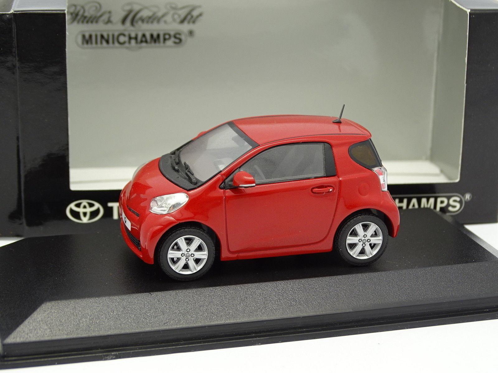 Minichamps 1 43 - Toyota IQ 2009 Rouge