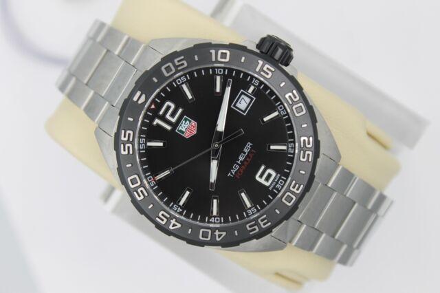 NEW Tag Heuer WAZ1110.BA0875 5 Year Warranty Formula One Watch Mens Black Mint
