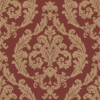 g67612 palazzo damast rot gold galerie tapete ebay. Black Bedroom Furniture Sets. Home Design Ideas