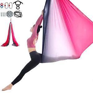 aerial silk hammock 11yards trapeze yoga swing antigravity