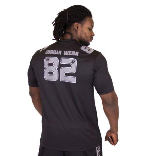 Gorilla Wear Fresno T-Shirt Black//Gray
