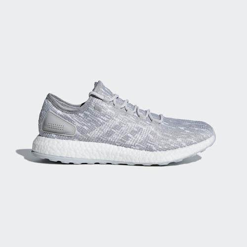 Adidas BB6305 Men Pureboost DPD LTD Running shoes white grey sneakers