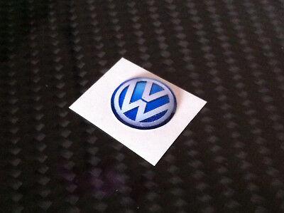 1 Aufkleber mit Harz beschichtet Aufkleber 3D BMW 20 mm Blau Weiss