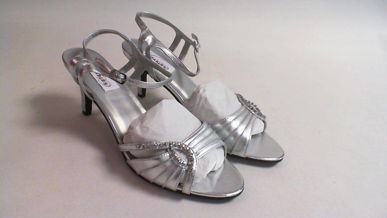 New Dyeables Wedding Shoe - Silver Metallic - Ariana - US 9B UK 7 #1R313