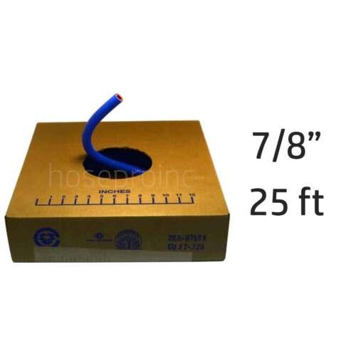 "25 ft 7//8/"" ID FlexFab Silicone Heater Hose 5526 Blue 22mm 350F Radiator Coolant"