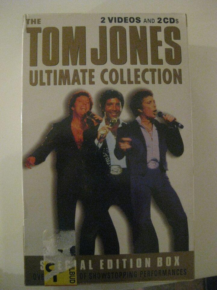Tom Jones: Ultimate collection, pop