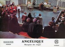 ROBERT HOSSEIN  ANGELIQUE MARQUISE DES ANGES 1964 VINTAGE LOBBY CARD ORIGINAL 10