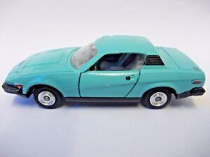 Triumph-TR7-coupe-voiture-de-sport-1975-Java-Vert-DINKY-TOYS-N-211-DIE-CAST-Restaure