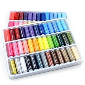 39pcs Mixed Colors Polyester Spool Sewing Thread For Hand Machine Hot Q
